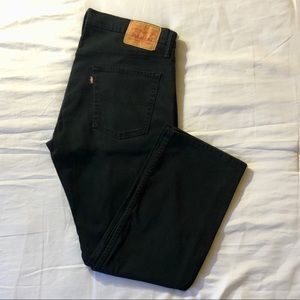 Levi's 514s / 36 x 30 / antique blue denim